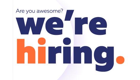 We've hiring